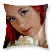 The Scent Throw Pillow