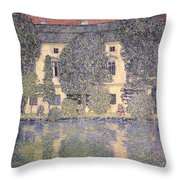 The Schloss Kammer On The Attersee IIi Throw Pillow