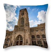 The Scottish Rite Cathedral - Indianapolis Throw Pillow