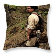 The Scout3 Throw Pillow