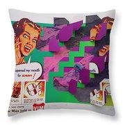 The Scream 2 Throw Pillow