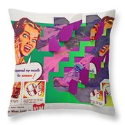The Scream 3 Throw Pillow