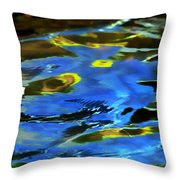 The Scream Throw Pillow