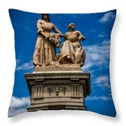 The Sculpture Agriculture Throw Pillow