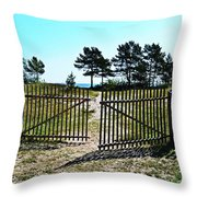 The Sea Is Yours Throw Pillow