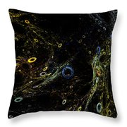 The Sea Of Holes Throw Pillow