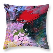 The Sea Of Lost Hearts Throw Pillow