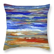 The Sea Throw Pillow