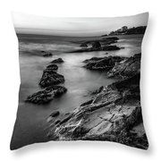 The Sea Serpent Throw Pillow