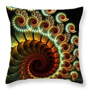 The Seahorse Swing Throw Pillow
