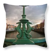 The Seahorses  Throw Pillow