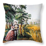 The Season Of Love Throw Pillow