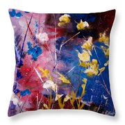 The Season Of Singing Has Come Throw Pillow