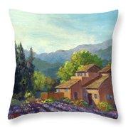 the Season Provence Throw Pillow