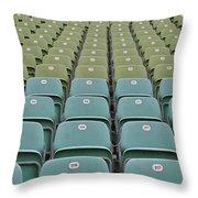 The Seats Throw Pillow