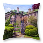 The Seaward Side Throw Pillow