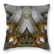 The Second Labor Of Herakles Throw Pillow