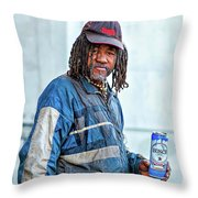 The Second Most Interesting Man In The World  Throw Pillow