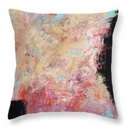 The Secret In Our Busy Lives Throw Pillow