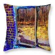 The Secret Window Throw Pillow