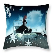 The Secret World Of Dreaming Throw Pillow