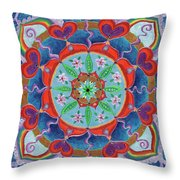 The Seed Is Planted Creation Throw Pillow