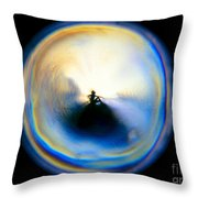 The Self In Introspection Throw Pillow