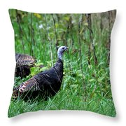 The Sentinal Throw Pillow