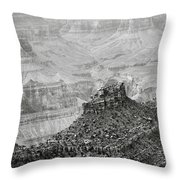 The Sentry Of Centuries Throw Pillow