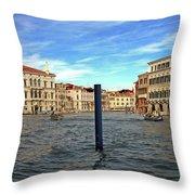 The Serene City Throw Pillow