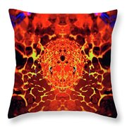 The Serpents Head Throw Pillow