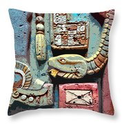 The Serpent's Message Throw Pillow
