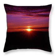 The Settling Time  Throw Pillow