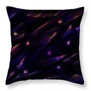The Seven Stars Throw Pillow