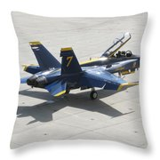The Seventh Angel Throw Pillow