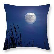 The Seventh Moon Throw Pillow