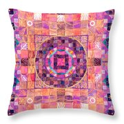 The Seventh Ray Throw Pillow