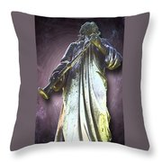 The Seventh Trumpet Throw Pillow