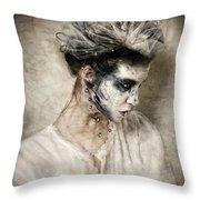 The Shade Of Havisham Throw Pillow