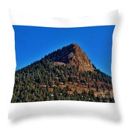 The Shadow Side Throw Pillow
