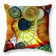 The Shape Of Color 3 Throw Pillow
