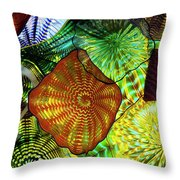 The Shape Of Color 5 Throw Pillow