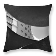 The Shape Of Modern Architecture  Throw Pillow