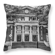 The Sheldon Concert Hall Bnw 7r2_dsc3020_11242017 Throw Pillow