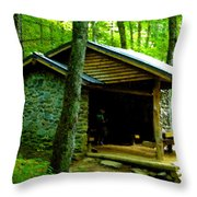 The Shelter Throw Pillow