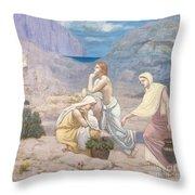The Shepherd's Song, 1891 Throw Pillow