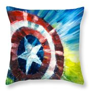 The Shield Throw Pillow