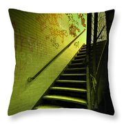 The Shining Darkness Throw Pillow