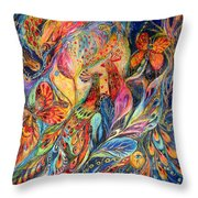 The Shining Of The Night Throw Pillow