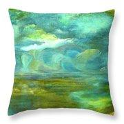 The Shoreline Throw Pillow